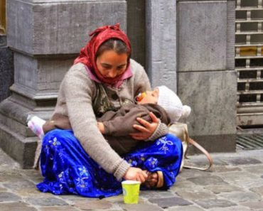 Why Is The Child In Hands Of The Beggar Always Sleeping?